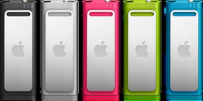 iPod shuffle 5colors